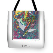 Two Edged Sword Tote Bag