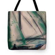 Underway Tote Bag by Gregory Dallum