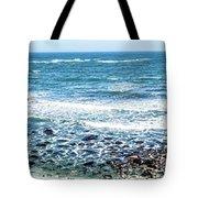 Usa California Pacific Ocean Coast Shoreline Tote Bag