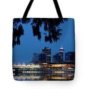 Vancouver Skyline Canada Tote Bag