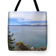 View Across Lake Tahoe Tote Bag