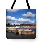 View From The Cobb - Lyme Regis Tote Bag