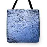 Water Abstraction - Blue Tote Bag
