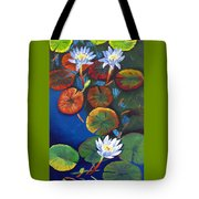 3 Water Nymphs Tote Bag