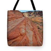 Wave Of Color In Valley Of Fire Tote Bag