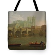 Westminster Abbey And Bridge Tote Bag