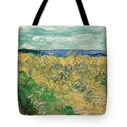 Wheat Field With Cornflowers Tote Bag
