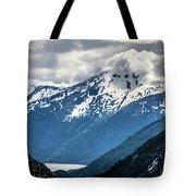 White Pass Mountains In British Columbia Tote Bag
