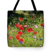 Wild Flowers Art Tote Bag