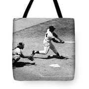 Willie Mays (1931- ) Tote Bag