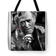 Writer Charles Bukowski On Tv Show Apostrophes September 1978-2013 Tote Bag