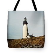 Yaquina Head Lighthouse - Toned By Texture Tote Bag