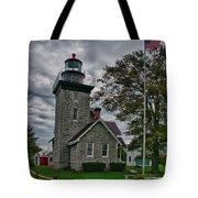 30-mile Point Lighthouse 3197 Tote Bag