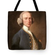 Portrait Of George Hill Sergeant At Law Henry Pickering Tote Bag