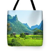 Rural Scenery In Summer Tote Bag