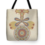 "Santa Barbara Mission Doorway Design From The Portfolio ""decorative Art Of Spanish California"" Tote Bag"