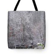 3003-snowscape Tote Bag