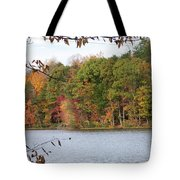 3008-fall Waterscape Tote Bag