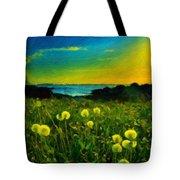Nature Art Landscape Tote Bag