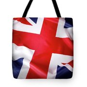 British Flag 7 Tote Bag