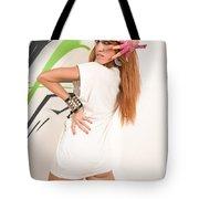 Cool Hip-hop Dancer Tote Bag