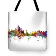 New York Skyline Tote Bag