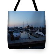 Racine Coastal Seascape - Michigan Lake In Wisconsin By Adam Asar Tote Bag