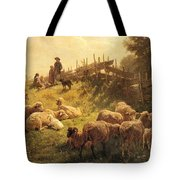 Weber Gottlieb Daniel Paul Near Obersdorf Bavaria Gottlieb Daniel Paul Weber Tote Bag