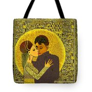 325  Golden Dancing  A Tote Bag