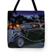 33 Ford On The Mexico Beach Tote Bag