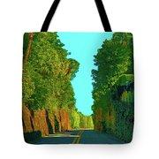 34- Enchanted Highway Tote Bag