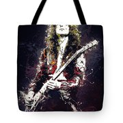 Jimmy Page. Led Zeppelin. Tote Bag