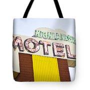 Route 66 Cars Cafes Restaurants Hotels Motels Tote Bag
