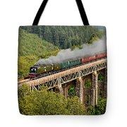 34067 Tangmere Crossing St Pinnock Viaduct. Tote Bag