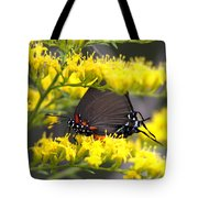 3454 - Butterfly Tote Bag