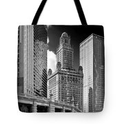 35 East Wacker Chicago - Jewelers Building Tote Bag