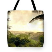 Picture Of Landscape Tote Bag