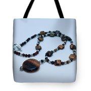 3516 Tiger Eye Necklace  Tote Bag