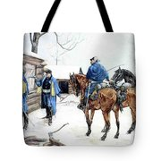 35424 Frederick Remington Tote Bag