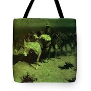 35427 Frederick Remington Tote Bag