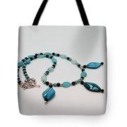 3564 Shell And Semi Precious Stone Necklace Tote Bag