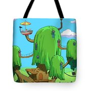 35666 Adventure Time Tote Bag