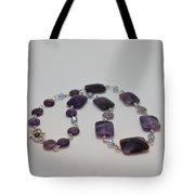 3575 Amethyst Necklace Tote Bag