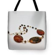 3586 Picasso Jasper Necklace Tote Bag