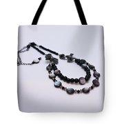 3587 Fun Gunmetal Necklace  Tote Bag