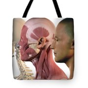Facial Muscles Tote Bag