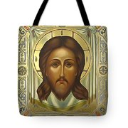 Jesus Christ Christian Art Tote Bag