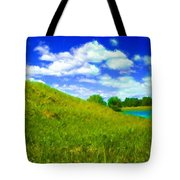 Pictures Of Oil Paintings Landscape Tote Bag