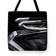37 Cadillac Hood Angel Tote Bag