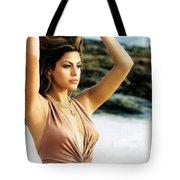 Eva Mendes Tote Bag